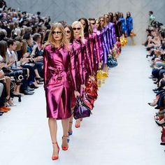 Burberry Spring 2013 #lfw #fashion #trenchcoat