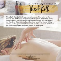 The Raindrop Collection by Young Living - Thrive Any Way Yl Essential Oils, Therapeutic Grade Essential Oils, Young Living Essential Oils, Essential Oil Blends, Yl Oils, Raindrop Technique, How To Calm Nerves, Massage Treatment, Massage Benefits