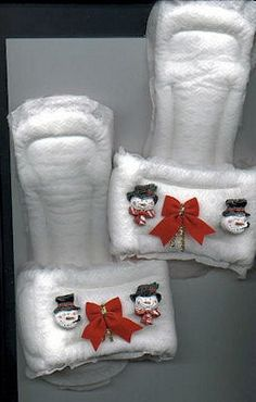Maxi-Pad Slippers Craft....this is a real craft!!!!!!!!!! *tears*