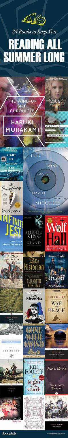 These great books are worth a read. Perfect for your summer reading list or your 2017 reading list. Including classics and new bestsellers.