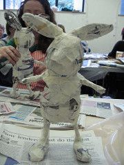 Day 1 of Julie Arkell Workshop Paper Crafts - The Ultimate Craft Ideas Paper crafts had been very po Paper Mache Projects, Paper Mache Clay, Paper Mache Sculpture, Paper Mache Crafts, Art Projects, Plate Crafts, Paper Dolls, Art Dolls, Arte Fashion