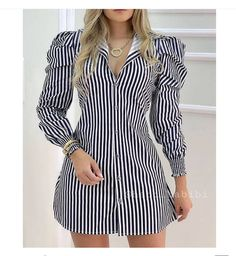 Real Online, Short Sleeve Dresses, Dresses With Sleeves, Long Sleeve, Trend Fashion, Mode Chic, Women's Fashion Dresses, Casual Dresses, Ideias Fashion