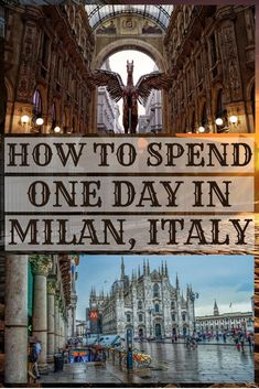 Last city on our awesome Italy itinerary after Florence was magnificent Milan Italy – capital of fashion! Our hotel was conveniently located right next to train station. After a long sleep an… Chiang Mai Thailand, Koh Lanta Thailand, Italy Travel Tips, Rome Travel, Travel Destinations, Milan Travel, Amalfi, Positano, Cool Places To Visit