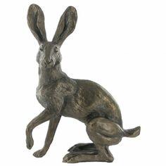 Buttercup Standing- Bronze Hare - Bronze Hares - Bronzes