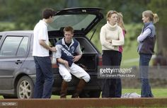 Prince Harry Sitting In The Back Of His Volkswagen Golf Car... News Photo | Getty Images