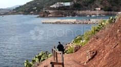 View Above The Sea, Porto Azzurro, Elba Island - Stock Footage | by eZeePicsStudio