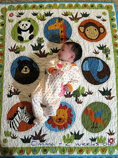 Very cute 3D quilt that should be a well loved treasure for young ... : childrens quilt ideas - Adamdwight.com
