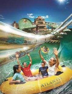 Atlantis The Palm Water Park   Atlantis, The Palm expands Aquaventure Waterpark with new adrenaline ...