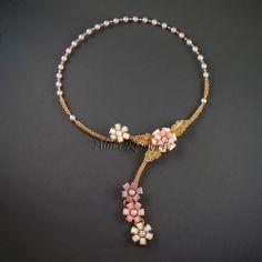 "Колье ""Цветы лета"" | biser.info - всё о бисере и бисерном творчестве"