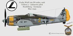 Luftwaffe Profiles part III by Adlerhorst-Hangar design group: Focke Wulf 190 F8 Profiles