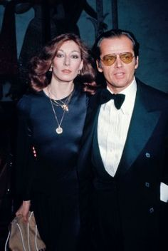 "Academy Award Winners, Angelica Houston & Jack Nicholson Were An ""Item"" For Many Years....As It Usually Seems With Jack, Soon Romance Cooled and Houston Ended Up Married To A Behind-the-Scenes Hollywood Type..."