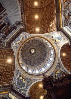 Inside the Dome of St. Peter's