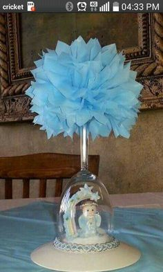 12 best girl baptism centerpieces images ideas party baby boy rh pinterest com