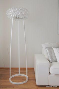 Coconut White: Foscarini Caboche floorlamp