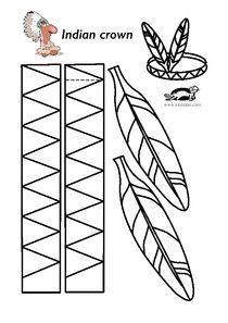Related Image Native American Headband Native American Feathers Native Americans Activities