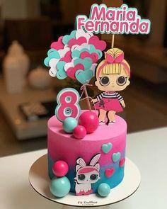 Mini Cakes, Cupcake Cakes, Lol Doll Cake, Ballerina Cakes, Rosalie, Birthday Cake Girls, Diy Cake, Lol Dolls, Cake Decorating Tips