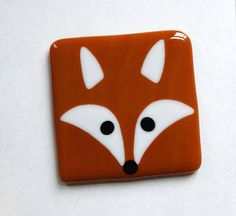 Hey, I found this really awesome Etsy listing at https://www.etsy.com/uk/listing/387090692/fox-coaster-fused-glass-coaster-drinks