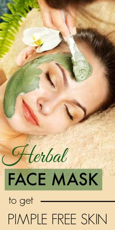 Herbal Face Mask Recipe For Acne And Pimple Free Skin Natural Remedies For Sunburn, Home Remedies For Acne, Pimples Remedies, Eczema Remedies, Vitiligo Treatment, Skin Treatments, Acne Treatment, Natural Face Pack, Sunburn Skin