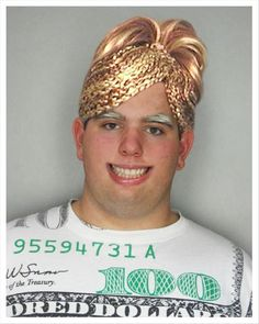 Is this a wig, or did he actually get some braids. Wow - 25 other WTF pics