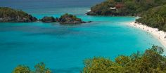 Trunk bay - snorkel along the 650 ft underwater trails.