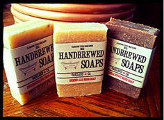 If you can brew it, we make soap with it! We specialize in homebrewed beer soap and now you can get wine, coffee, and tea soap as well! Beer Soap, Coffee Soap, Homemade Soap Recipes, Beer Recipes, Homebrew Recipes, Beer Brewing, Home Brewing, Six Pack Cerveza, Artisan Beer