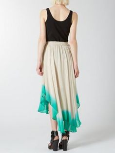 Label Lab Dip dye graduated hem skirt NEUTRAL - House of Fraser #dipdye #skirt #style #styleblogger #fashion #AW13 #clothes #london #styleblog
