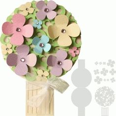 Silhouette Design Store - View Design #67764: bouquet of flowers shape layer card