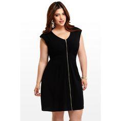 Mujeres gorditas con vestidos cortos