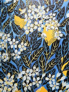 I was not familiar with Josef Frank's body of work in designing textiles, wallpapers and other decorative items - I really like this one!