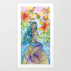 Tropical Caribbean Mermaid