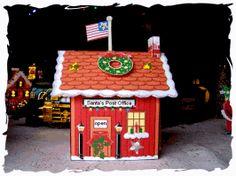 Oficina GRATIS para imprimir de Santa Publicar para la Navidad