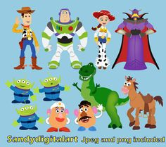 """Digital Clipart : """"TOY"""" clip art For Personal and Commercial Use / INSTANT DOWNLOAD on Etsy, $5.00"""