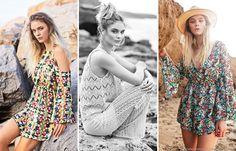 Vestidos, palazzos de encaje y monos de moda verano 2016. Victoria Jess moda verano 2016.