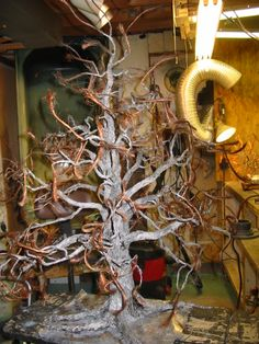 In the process Bonsai Styles, Wire Trees, Deco, Art Forms, Projects, Painting, Art Deco, Log Projects, Deko