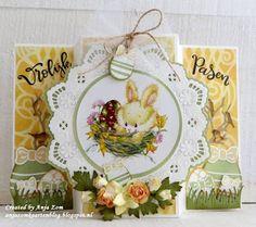 Anja Zom kaartenblog Marianne Design Cards, Black Artwork, Easter Crafts, Easter Ideas, Penny Black, Happy Easter, Cardmaking, Decorative Plates, Scrapbooking
