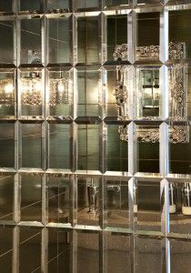 Mirrored Tiles Fabulous Mirror Wall Mosaic Mirrors Laundry Room
