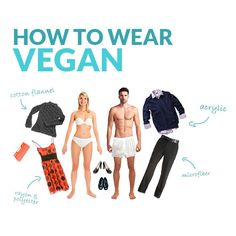How to Wear Vegan! Get tips on what to wear, where to shop, and what to avoid here: http://features.peta.org/how-to-wear-vegan/ #veganfashion #veganclothes #crueltyfreeclothing