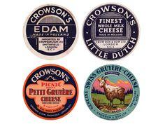 Vintage Packaging: CheeseLabels - The Dieline - The #1 Package Design Website -