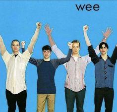 Funny Laugh, Haha Funny, Hilarious, Stupid Memes, Music Memes Funny, Mtv, Weezer, Band Memes, Wholesome Memes