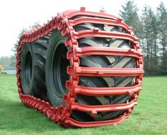 Over tire track 4x4 Tires, Truck Tyres, 6x6 Truck, Trucks, Homemade Tractor, Tire Tracks, New Tractor, Jeep Wagoneer, Crawler Tractor