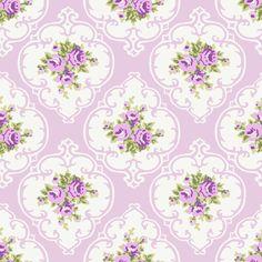 Purple Cameo Roses by Paris Bebe fabric by parisbebe_com on Spoonflower - custom fabric