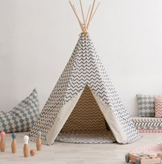 Greats ideas for a kid's room! #nobodinoz #teepee