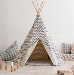 Greats ideas for a kid's room! #nobodinoz #teepee