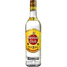 Havana Club 3 Year Old White Rum, Cuba - 40% ABV | 70cl