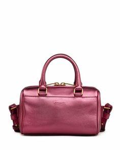 Metallic Duffel Toy Saint Laurent Bag, Pink by Saint Laurent at Neiman Marcus.