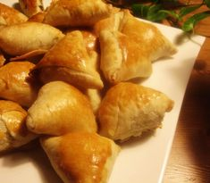 libyan food: Arabic Savoury Pastries: Bureek Muwaraq بوريك مورق (i acctually used this pastry recipe AMAZING and flaky)
