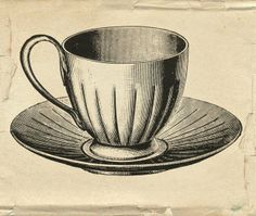 tea cup graphic