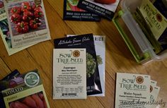 Weekend Project: Organize Your Seed Stash
