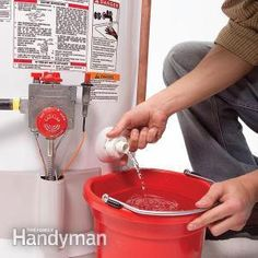 Some simple yearly preventative #maintenance will keep your water heater working efficiently and extend its life.