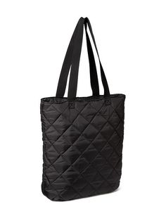 Quilted Zip-Top Tote Bag Product Image